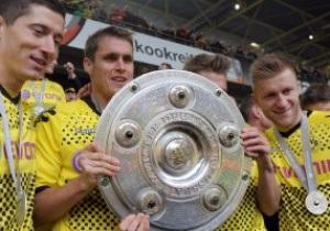 Фотогалерея: В золоті. Боруссія відзначила перемогу в Бундеслізі