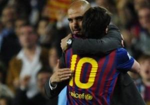 Гвардиола попрощался с Барселоной