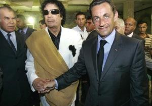 Екс-прем єр Лівії: Каддафі дійсно фінансував кампанію Саркозі