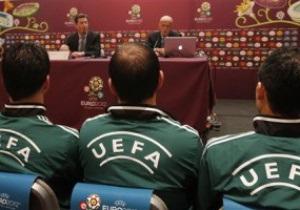 Коллина: Перед Евро-2012 игрокам напомнят, чего нельзя делать на футбольном поле