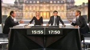 Вибори у Франції: Саркозі та Олланд обмінялися образами
