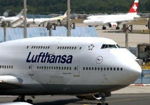 Крупнейшая немецкая авиакомпания терпит убытки из-за роста цен на авиакеросин