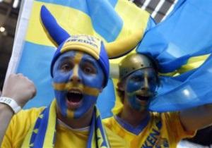 Болельщики сборной Швеции проведут в Киеве фан-парады во время Евро-2012