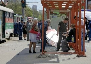 Вибухи в Дніпропетровську: У київському метро міліція обшукує людей з сумками і рюкзаками