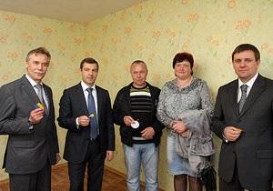 У Сумах після 20 років очікування отримали квартири 60 сімей чорнобильців