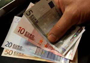 Євро на міжбанку незначно знижується