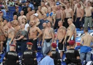 Милиция внесла 500 киевских фанатов в черный список в преддверии Евро-2012