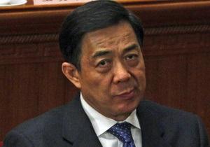 ЗМІ: Опальний китайський політик звинувачується у причетності до двох вбивств