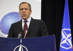 Лавров: Росія занепокоєна мілітаризацією Грузії і перспективою її входження в НАТО