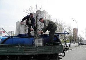 У київське озеро запустили 520 тонн риби