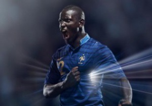 Фотогалерея: Синие Галлы. Новая форма сборной Франции к Евро-2012