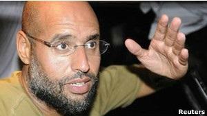Син Каддафі може постати перед судом у Лівії