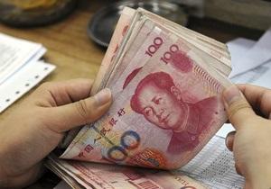 У Китаї знижуються темпи зростання ВВП