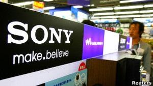 Sony скорочує 10 тисяч робочих місць