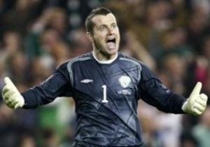 Вратарь сборной Ирландии: Мы рады сразиться с Хорватией, Италией и Испанией на Евро-2012