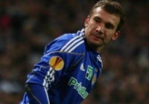 Шевченко начнет матч с Шахтером в запасе