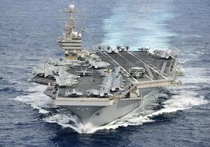 Майже всі військові кораблі США залишили Перську затоку