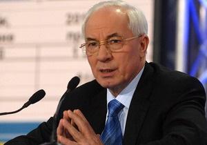 Україна і Азербайджан можуть збільшити товарообіг в два-три рази - Азаров