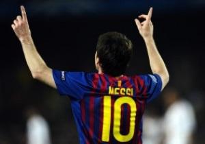 Месси установил новый рекорд результативности Лиги Чемпионов