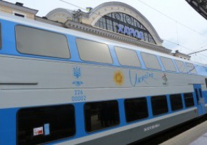 На Южной железной дороге начались испытания двухэтажного поезда Skoda