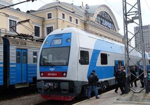 В Украине начались испытания нового двухэтажного электропоезда Skoda