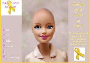Для дітей, що перенесли хіміотерапію, випустять Барбі без волосся