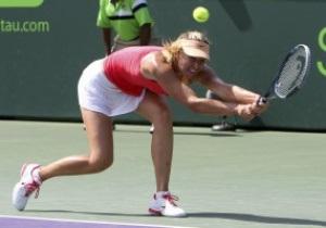 Турнир в Майами: Шарапова в финале проиграла Радванской