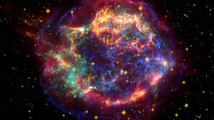 Наднова в сузір ї Кассіопеї при вибуху  вивернулася  — астрономи