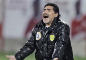 Марадона поссорился с VIP-болельщиками Аль-Шабаба