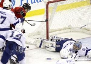 NHL: Гол и передача Поникаровского помогли Дьяволам сломить Тампу