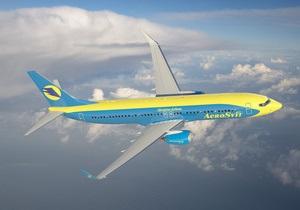 АэроСвит получила от Boeing первый самолет В737-800 из одиннадцати заявленных
