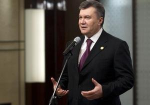 Янукович запропонував Hyundai Corporation розширити співпрацю з Україною