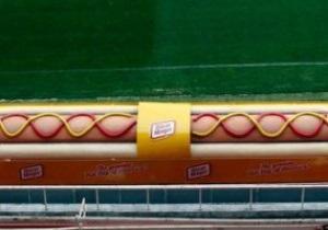 Скамейка запасных Севильи превратилась в хот-дог