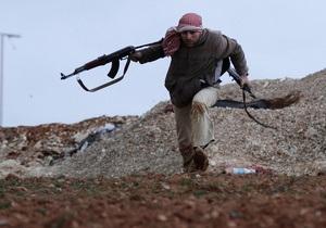 На території Лівану відбувся бій між армією Сирії та повстанцями