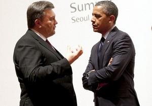 Янукович розповів про зустріч з Обамою
