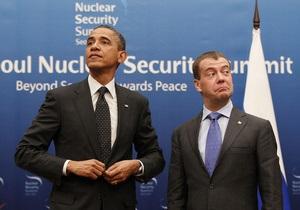Медведєв оцінив відносини між США і РФ за роки його президентства