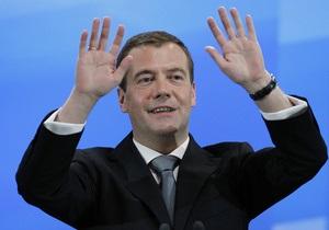 Медведєв: НАТО так і не довела, що ЄвроПРО не спрямована проти Росії