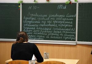 Для участі у зовнішньому тестуванні зареєструвалося більш як 80% випускників