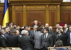 Рада прийняла в першому читанні законопроект про реформування нафтогазового комплексу