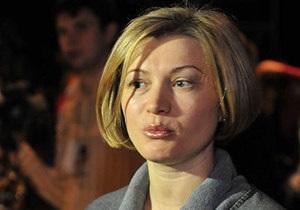 Геращенко звернулася в Генпрокуратуру зі скаргою на регіонала Мельника