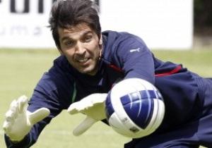 Буффон не сыграет с Миланом