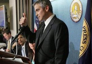 Держдеп США підтримав акцію Джорджа Клуні, після якої він був затриманий