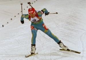 Вита Семеренко завоевала серебро в спринте в Ханты-Мансийске