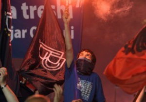 Чемпионат Македонии приостановлен из-за угрозы межэтнических конфликтов