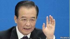 Прем єр Китаю закликав до  термінових реформ