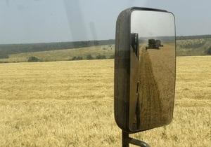 Україна знизила прогноз врожаю пшениці на 2012-й рік