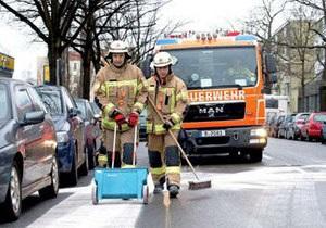У Берліні виявили пляму машинного масла завдовжки 13 кілометрів