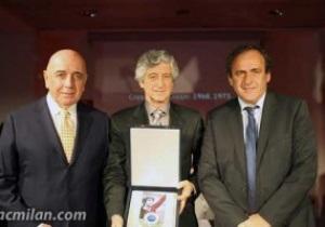 Легенда Мілана отримав Нагороду президента UEFA