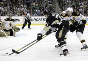 NHL: Питтсбург уверенно обыгрывает Бостон, Филадельфия неудачно сьездила в гости к Дьяволам