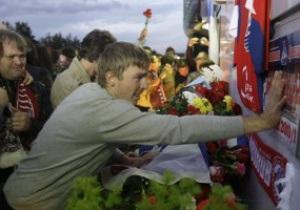 Локомотив начал выплачивать компенсации семьям погибших в авиакатастрофе игроков
